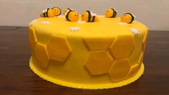 Torta Včielky